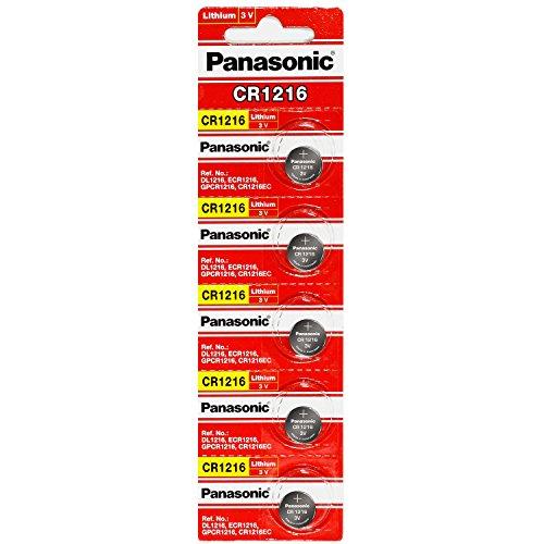 Panasonic CR1216 3 Volt Lithium Coin Battery (4 Packs of 5)