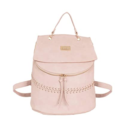 dfcca7dcb14 Swiss Miss Pink Women Backpack (WBP3A): Amazon.in: Bags, Wallets ...