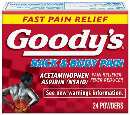 Goody's Back and Body Pain Formula, 24-Count