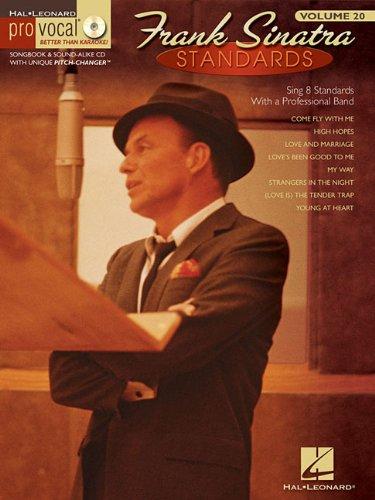 Frank Sinatra Standards: Pro Vocal Men's Edition Volume 20 (Hal Leonard Pro Vocal)