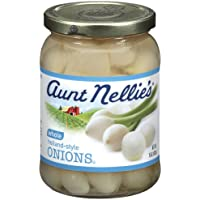 Aunt Nellie's Whole Onions, 15-Ounce Jars (Pack of 12)