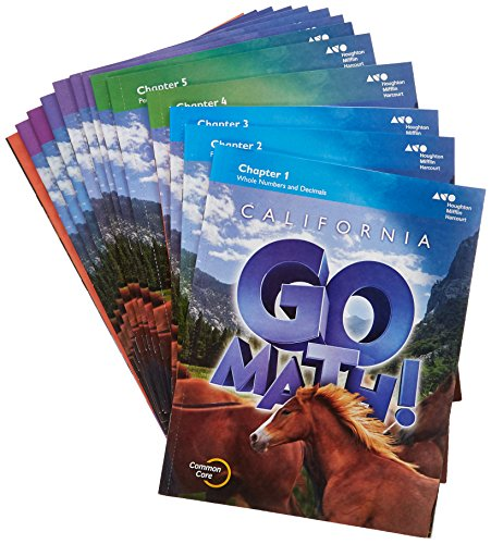 Houghton Mifflin Harcourt Go Math!: Student Edition Multi-volume Grade 6 2015