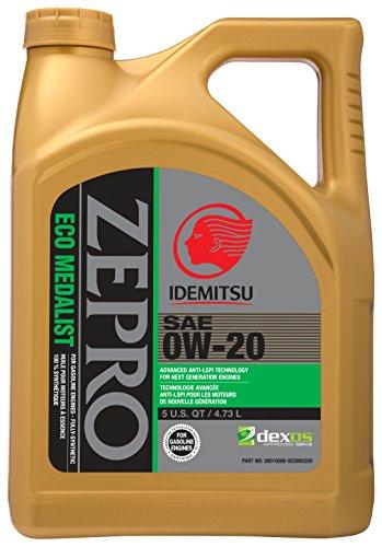 ZEPRO 30010096-95300C020 Eco Medalist 0W-20 Engine Oil - 5 Quart