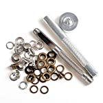 New Eyelet Punch Die Tool Set Kits +20 Sets Eyelet with Washer For Leather Craft Clothing Grommet Banner