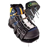 GoPPa Lawn Aerator Shoes – Heavy Duty Lawn Aerator Sandal, You only FIT Once. Ready for aerating Your Yard, Lawn, Roots & Grass – Strong Design