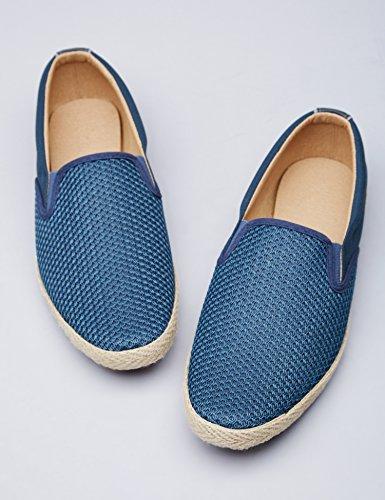 navy Blu Slip Scamociata Scarpa Find Uomo on xnwY847qBX