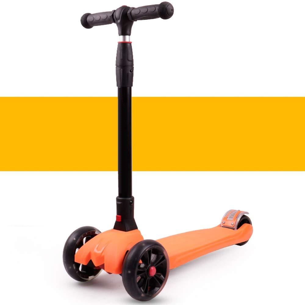 Runplayer フラッシュホイール付き子供用三輪スクーター B07R28386R :、ワンボタン折りたたみ、持ち運びが簡単 ( Color ( : Orange ) B07R28386R, ELLY タオル館:5d1b7cf0 --- techsealindia.marketcentral.in