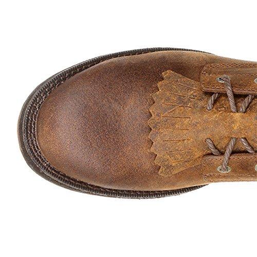 Western Men Waterproof Boot Rocky Distressed Brown Distressed 8 Renegade Brown RKW0224 PETqaxgd