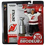 McFarlane Toys NHL Sports Picks Series 9 Action Figure Martin Brodeur (New Jersey Devils) White Jersey