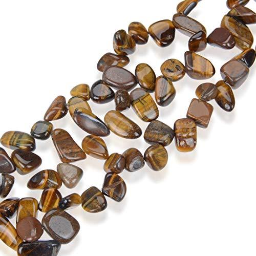 AAA Natural Tiger Eye Gemstones Smooth Teardrop Loose Beads Free-form ~18x10mm beads ( ~16