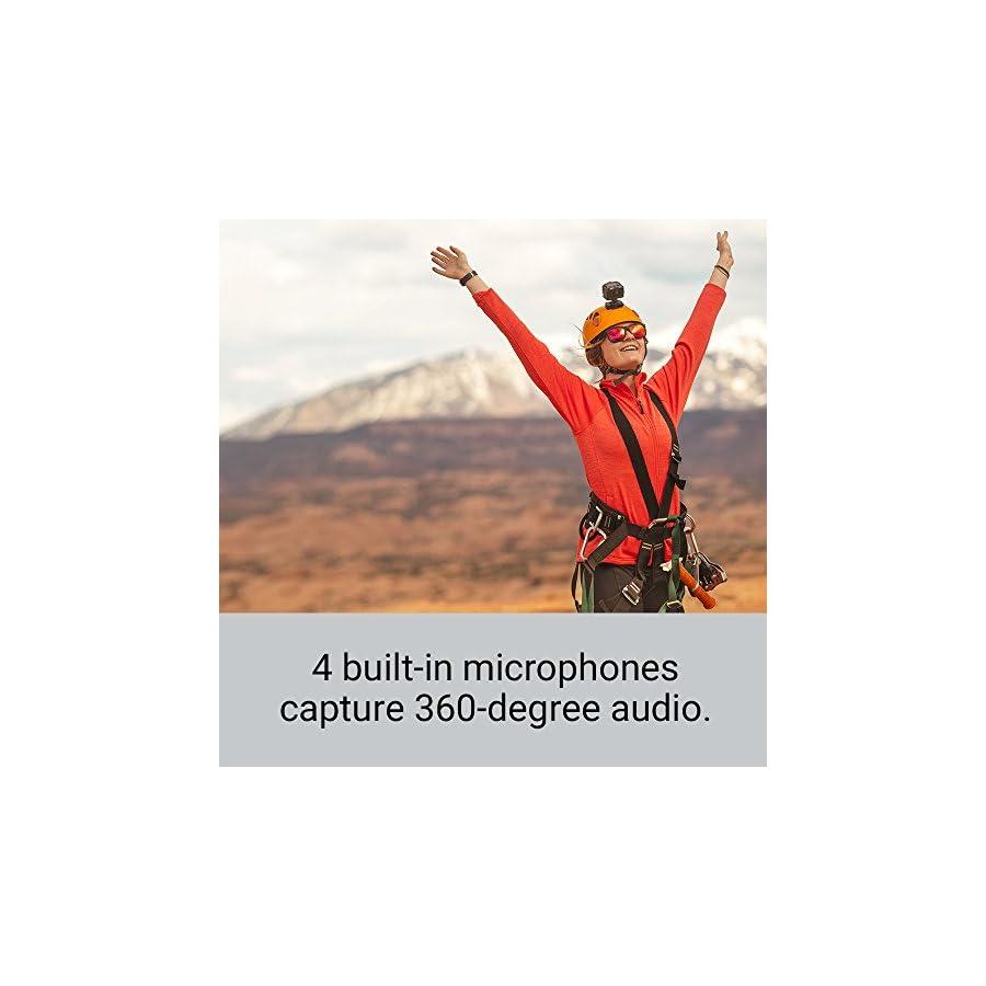 Garmin VIRB 360, Waterproof 360 degree Camera, 5.7K/30fps Resolution, 1 Click Video Stabilization up to 4K Resolution