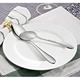 LIANYU Flatware Set, 40 Piece Silverware