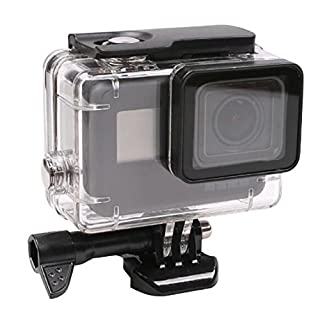 Housing Case, Walway Waterproof Protective Diving Housing Cover Shell Mount for GoPro Hero6 Hero5 Action Camera, with Bracket & Quick Release, 45m Underwater