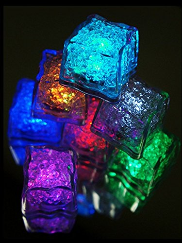 Vibrant Submersible Recreation Lights Ice Cube Led - Assorted