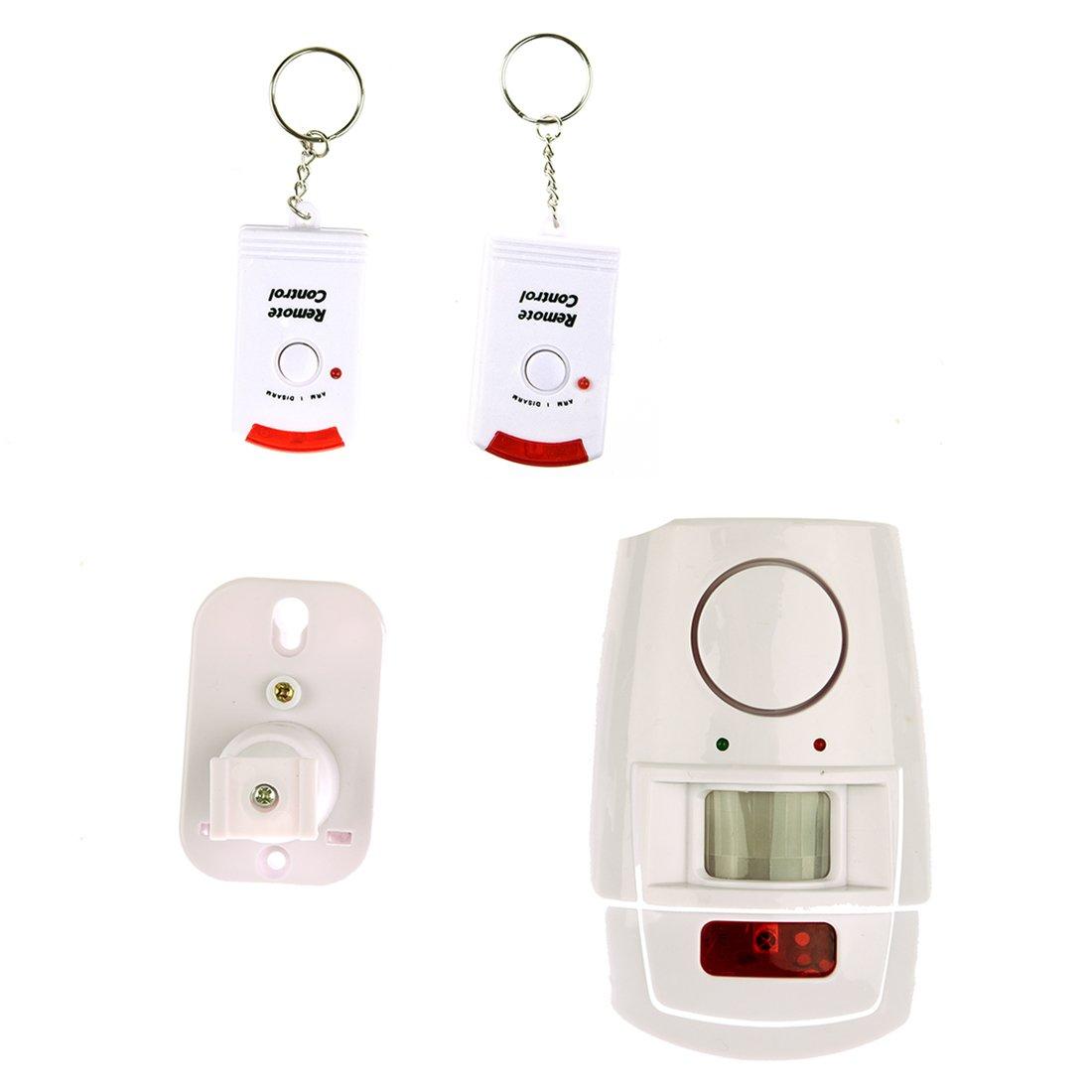TOOGOO IR Alarma de seguridad Infrarroja con deteccion de ...