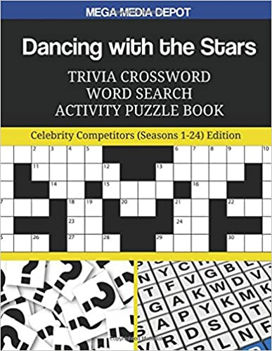 {{OFFLINE{{ Dancing With The Stars Trivia Crossword Word Search Activity Puzzle Book: Celebrity Competitors (Seasons 1-24) Edition. Review Gracias Spectra Honoree Western Consulta Quality