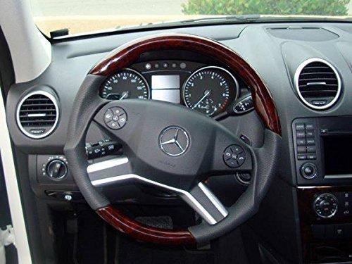 Mercedes W164 Facelift Sport Steering Wheel Burl Walnut Wood