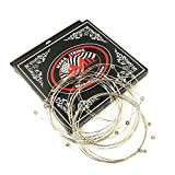20-Pack Economy Single Electric Guitar Strings Bulk .010 High E (Light) 10 Gauge, Individual Packed (New Package)