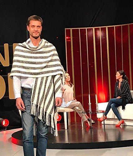 Striped Ruana