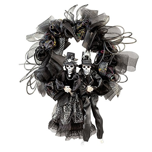 Halloween Skeleton Couple (Halloween Wreaths)
