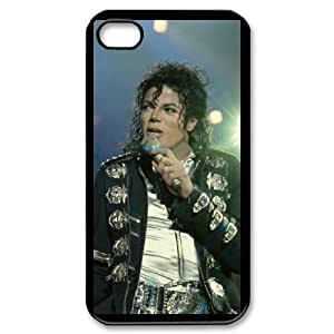 I-Cu-Le Customized Print Michael Jackson Pattern Back Case for iPhone 4/4S