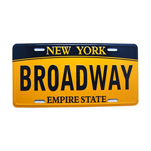 Favorict New York License Plate NYC Plate Souvenir NY License Plate 12