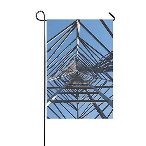 YIJIEVE Home Decorative Outdoor Double Sided Blue Sky Steel