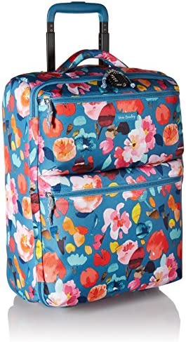 Vera Bradley Women s Lighten Up Small Softside Foldable Rolling Suitcase Luggage