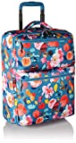 Vera Bradley Lighten up Small Foldable Roller, Polyester, Scattered Superbloom,One size