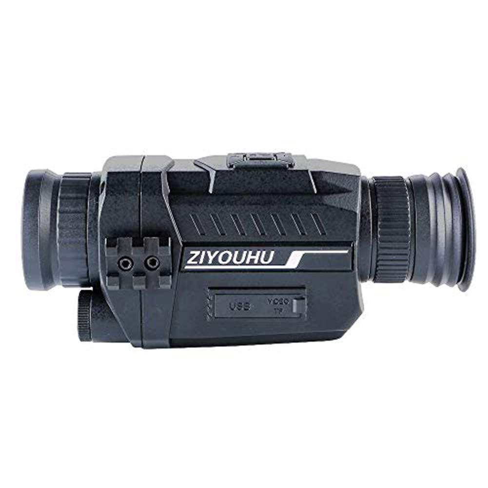 ZIYOUHU 5x35 Mutifunctional hd Digital Night Vision Camera Insert Card Images and Video Recording Hunting Patrol Night Infrared Telescope by ZIYOUHU
