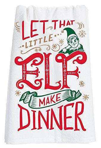 Primitives by Kathy 29135 Christmas LOL Kitchen Towel, Tea, Little Elf