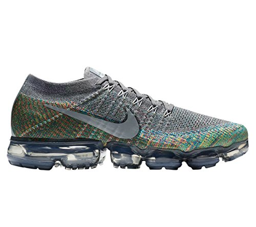 sale fast delivery free shipping hot sale NIKE Men's Air Vapormax Flyknit Running Shoes Mens 849558-019 Dark Grey/Reflect Silver/Blue Orbit buy cheap sale 2uaL0QmxZQ