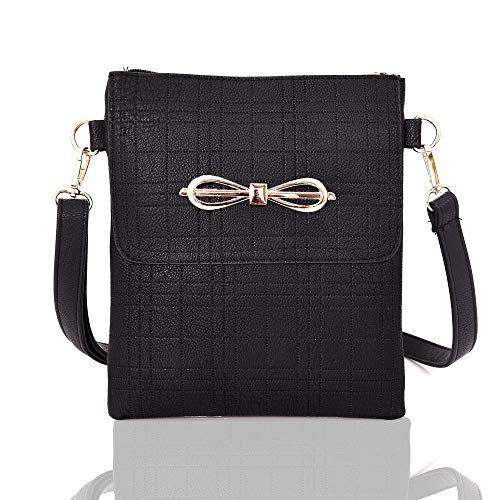 Womens Bag Messenger Shoulder Black Crossbody Handbag Bag Ladies Stylish Girls OrXq46xCrw
