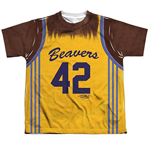 Used, Youth: Teen Wolf- Beavers Jersey #42 Kids T-Shirt Size for sale  Delivered anywhere in USA