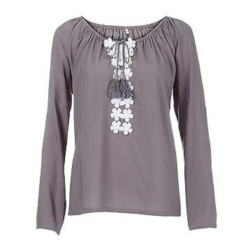 8d202cf3caf3 Hailys Bluse Damen Seidensticker Hemd Slim Fit Enge Oberteil Damen Pugo Top T-  Shirt Herren