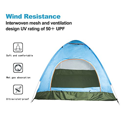Amazon.com  Korotus 3-Person Fmaily C&ing Dome Backpacking Instant Tent  Sports u0026 Outdoors  sc 1 st  Amazon.com & Amazon.com : Korotus 3-Person Fmaily Camping Dome Backpacking ...
