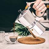 GROSCHE Milano Stovetop Espresso Maker Moka Pot 3