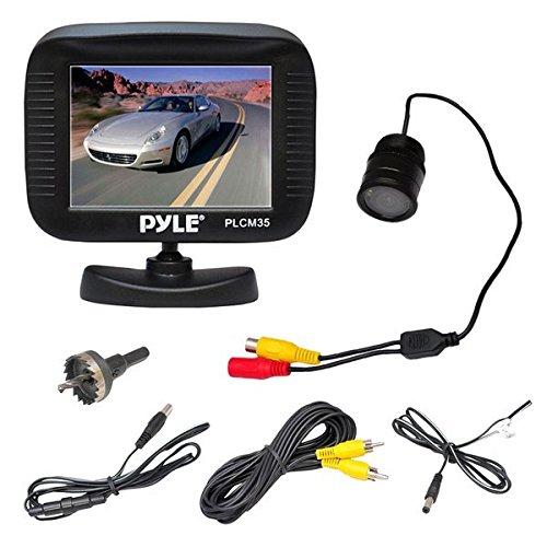 Pyle PLCM35R Rearview Waterproof Assistance