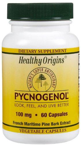 HEALTHY ORIGINS PYCNOGENOL VEG CAPS,100MG, 60 CAP by Healthy Origins