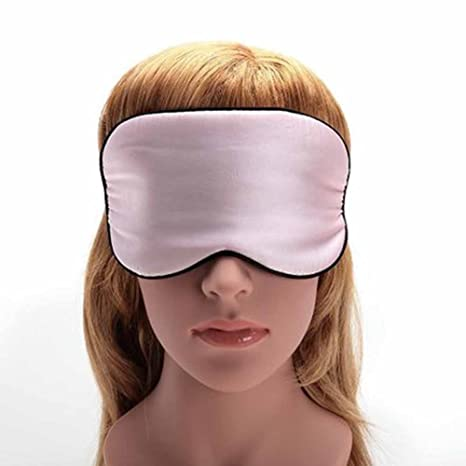ynxing Sleep Mask dormir máscaras máscara de ojo máscara de dormir de seda natural luz bloqueo
