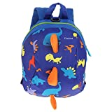 Baby Walking Safety Backpack, Kids Toddlers Cute 3D Dinosaur Baby Safety Anti-lost Zoo