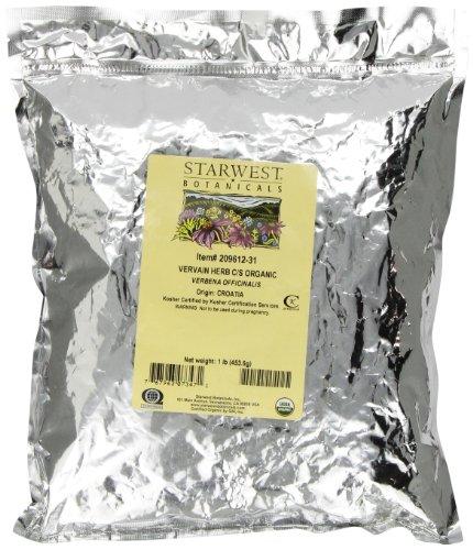 Starwest Botanicals Vervain Herb Cut/sifted, 1-Pound