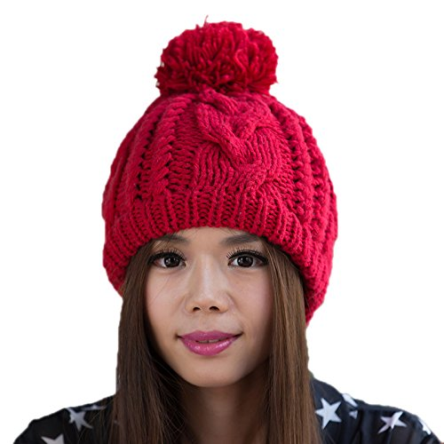 Bromista del de señoras a Sombrero de 1 Las 3 Sombrero Maozi Punto Coreano Moda Invierno Sombrero Lana Punto de Coreana awq88C4TOW