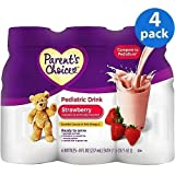 Parent's Choice - Nutritional Pediatric Drink, Stawberry, (Pack of 4)
