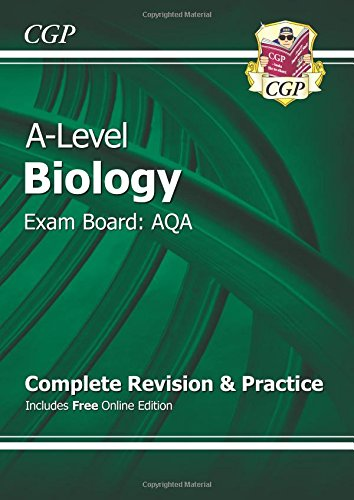 A-Level Biology: AQA Year 1 & 2 Complete Revision & Practice with Online Edition ebook
