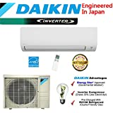 Daikin 18,000 BTU 220V/18 SEER Mini Split Inverter Air Conditioner