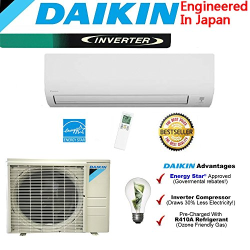 Daikin 18,000 BTU 220V/18 SEER Mini Split Inverter Air Conditioner price