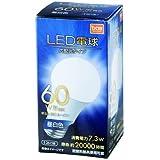 LED電球 広配光 60形相当 昼白色 LDA7N-G-6T5-E1 E26口金/60形相当