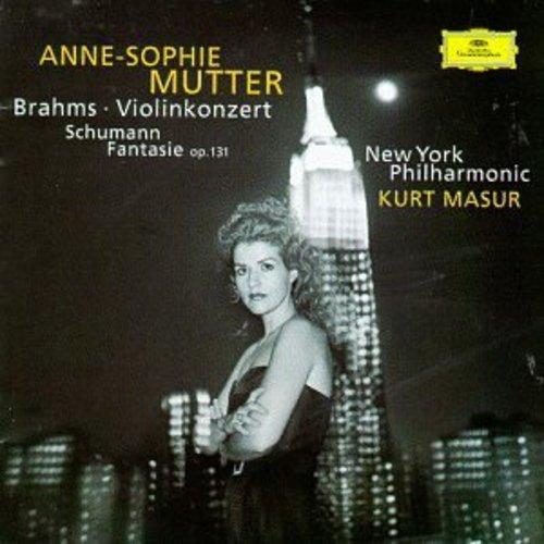 CD : Anne-Sophie Mutter - Violin Concerto /  Fantasie Op 131 (CD)