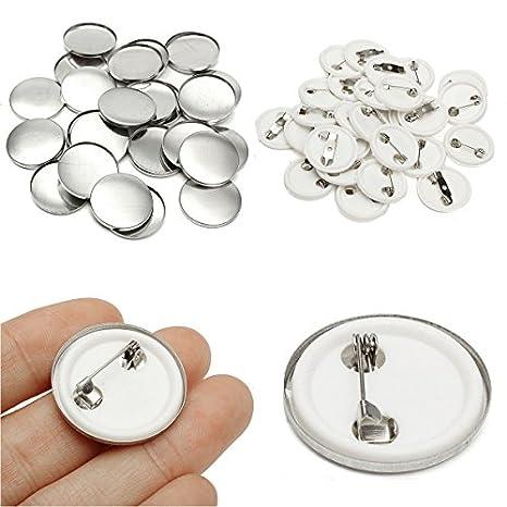 iMeshbean - Molde para hacer insignias de 1 pulgada / 1,25 pulgadas / 2,28 pulgadas, 1000 piezas / 500 piezas: Amazon.es: Juguetes y juegos